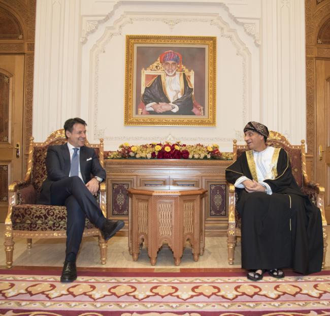 Il Presidente Conte nel Sultanato dell'Oman