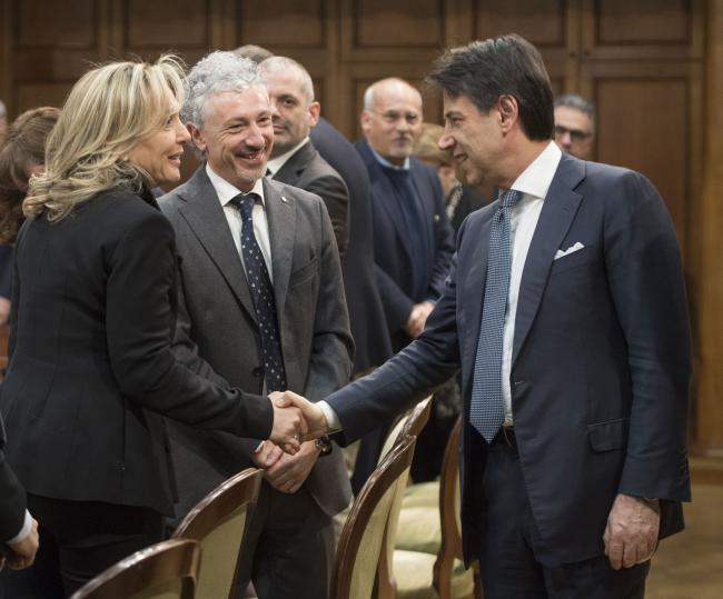Conte incontra i rappresentanti del Forum del Terzo settore e delle associazioni del mondo non profit