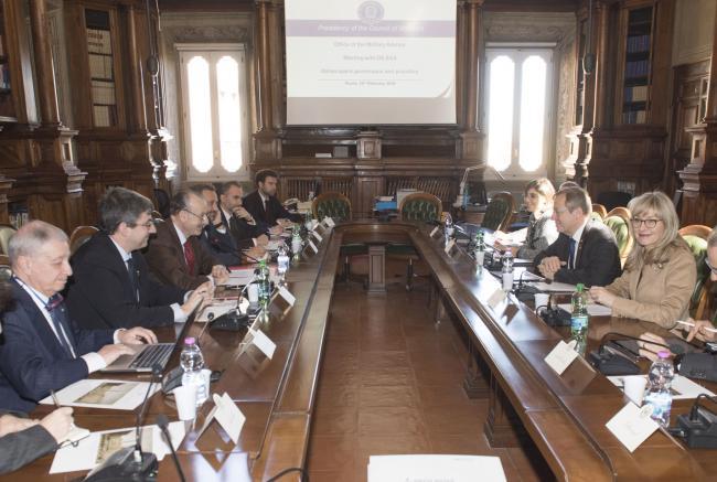 Il Direttore Generale dell'Agenzia Spaziale Europea ospite a Palazzo Chigi