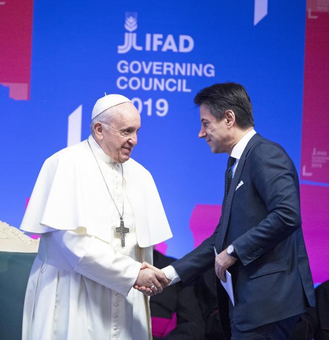Conte alla 42^ sessione del Consiglio dei Governatori IFAD