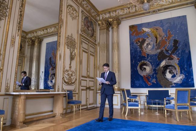 Conte incontra Macron