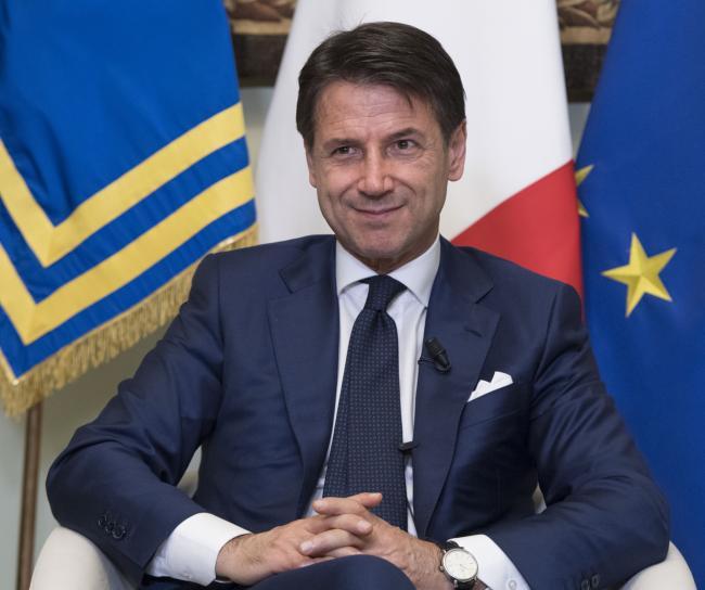 Il Presidente Conte incontra la stampa a Palazzo Chigi