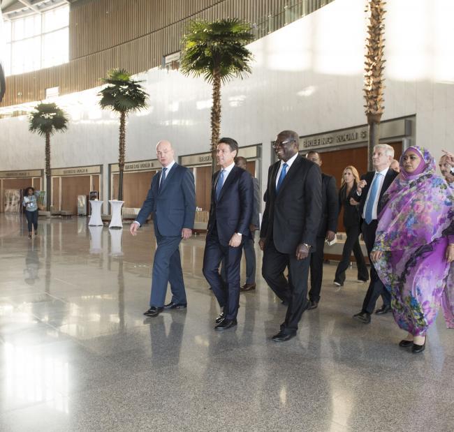 Il Presidente Conte in Etiopia