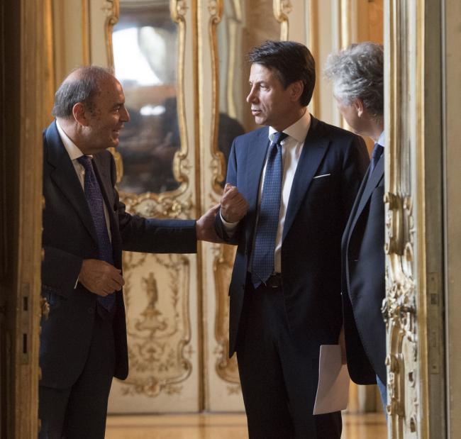 """Intervista del Presidente Conte a """"Porta a Porta"""""""