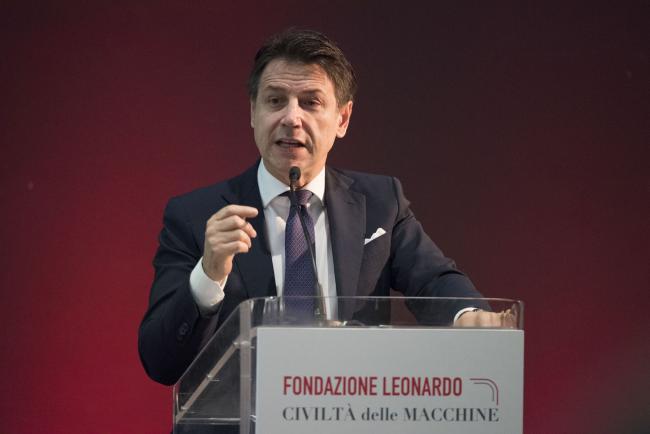 Il Presidente Conte alla cerimonia inaugurale della Fondazione Leonardo - Civiltà delle Macchine