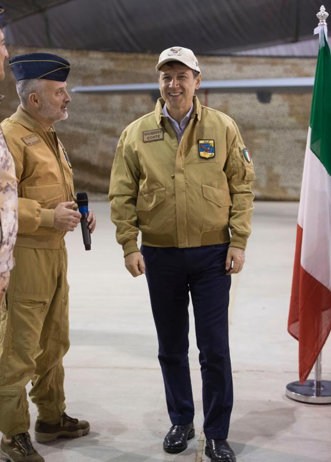 Il Presidente Conte in Kuwait