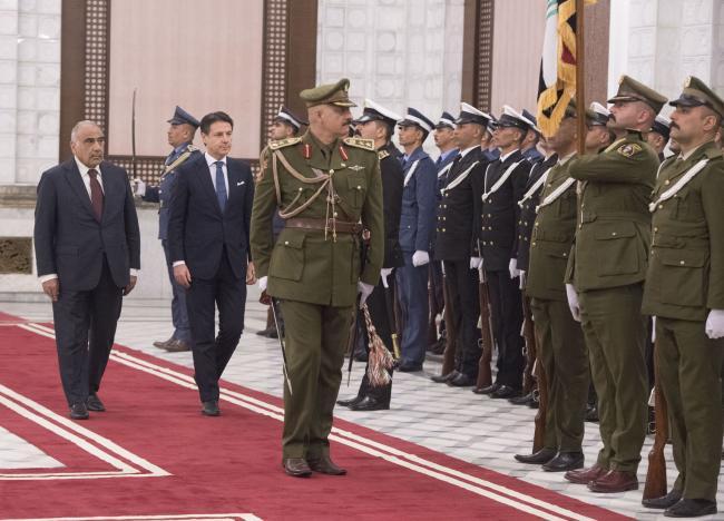 Il Presidente Conte incontra il Primo Ministro della Repubblica dell'Iraq