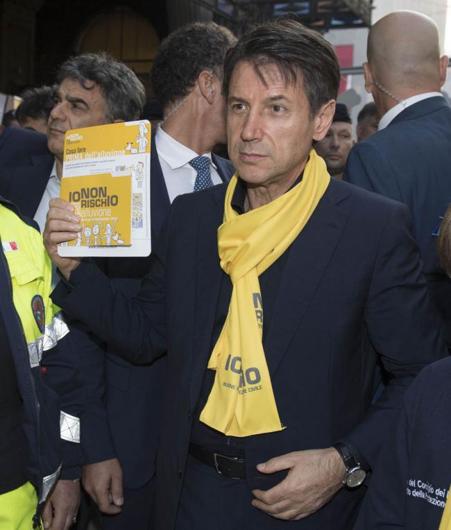 Il Presidente Conte a Bologna per l'ottava edizione di #iononrischio