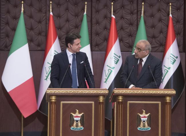 Dichiarazioni alla stampa con il Primo Ministro della Repubblica dell'Iraq