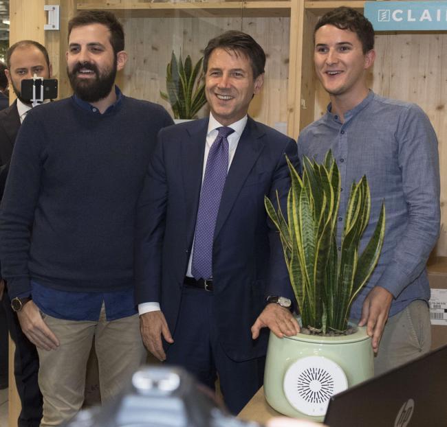 Il Presidente Conte incontra le startup del Talent Garden