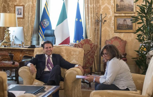 Intervista del Presidente Conte all'Huffington Post