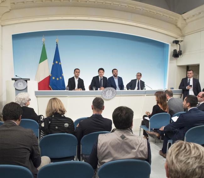 Consiglio dei Ministri n. 23, la conferenza stampa