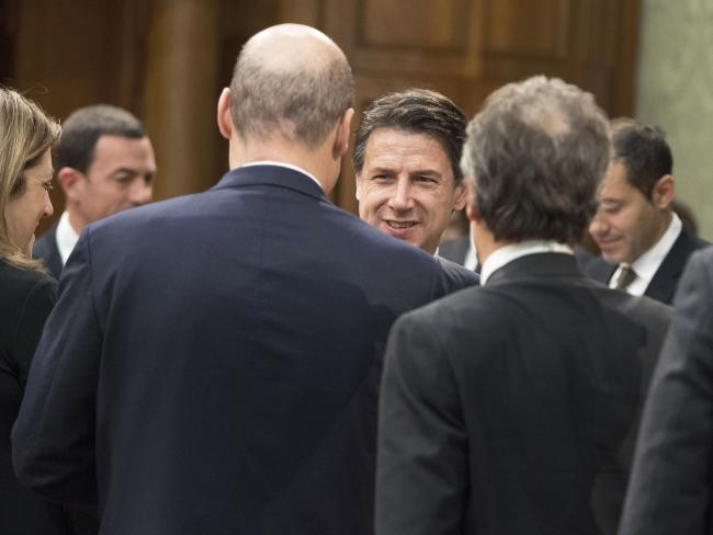 Il Presidente Conte incontra i Presidenti delle Regioni colpite dal terremoto del Centro Italia