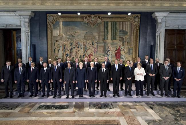#EU60 Foto di Famiglia al Quirinale - Family Photo at Quirinale