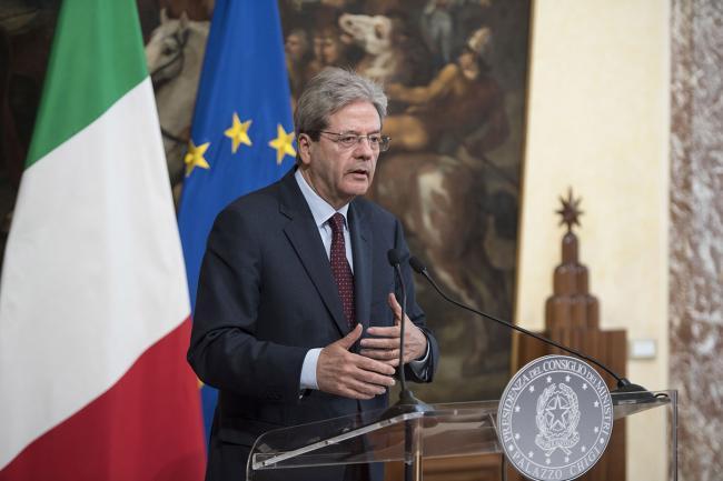 Siria, dichiarazione del Presidente Gentiloni