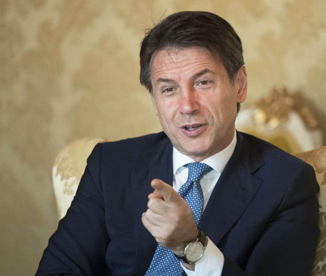 Il Presidente Giuseppe Conte