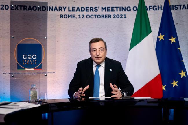 The G20 extraordinary leaders' meeting on Afghanistan