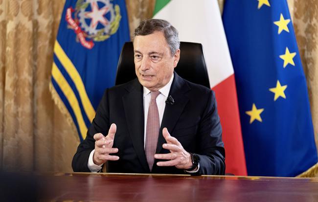 L'intervista del Presidente Draghi al Tg1
