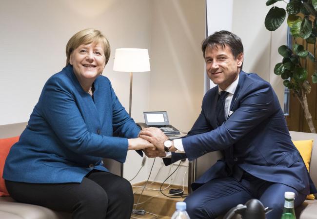 Incontro bilaterale Conte - Merkel