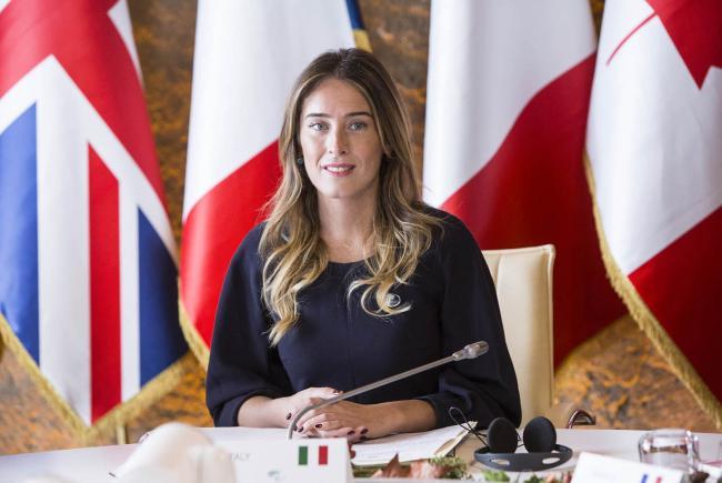 La Sottosegretaria Boschi alla riunione ministeriale G7 sulle Pari Opportunità
