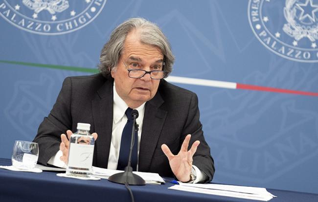 Conferenza stampa del Ministro Brunetta