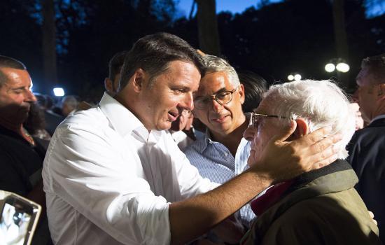 Renzi a La Versiliana