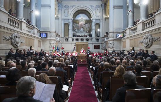 Gentiloni alla cerimonia di inaugurazione dell'anno giudiziario 2017