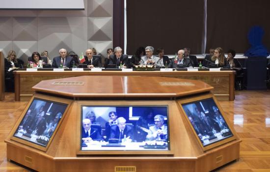 Gentiloni partecipa alla Conferenza sulla Rotta del Mediterraneo Centrale
