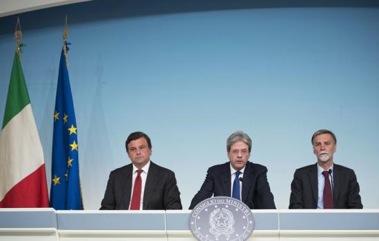Conferenza stampa del Consiglio dei Ministri n. 26