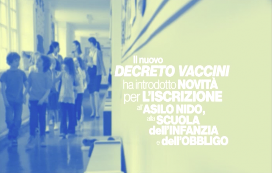 Campagna informativa sui vaccini