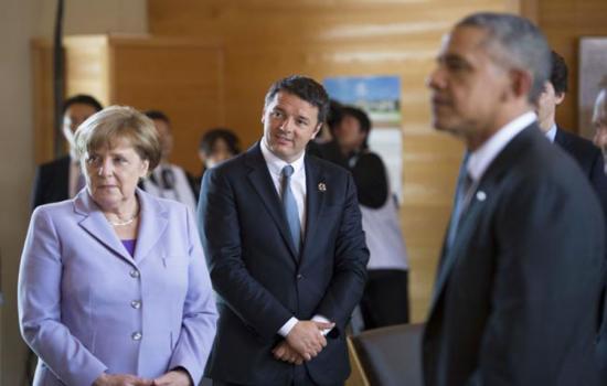 Renzi in Giappone per il G7