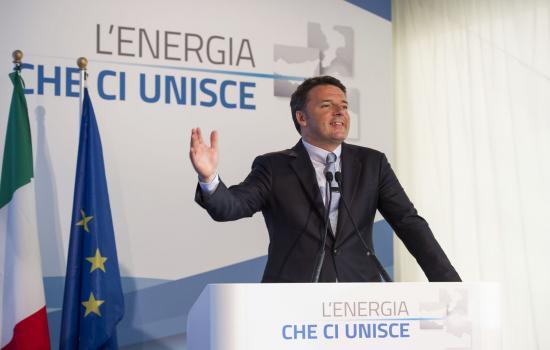 Inaugurazione Elettrodotto, Renzi a Favazzina
