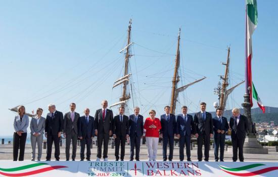 Trieste Summit, la foto di famiglia