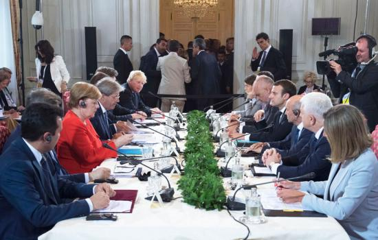 Trieste Summit, l'incontro dei Leader presso il Palazzo del Governo