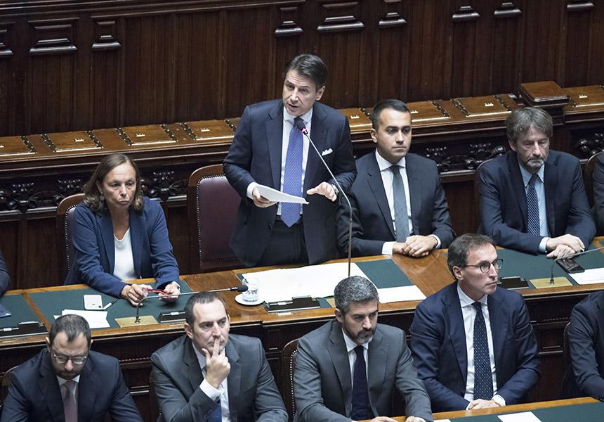 Camera dei deputati dichiarazioni programmatiche del for Presidente camera dei deputati attuale