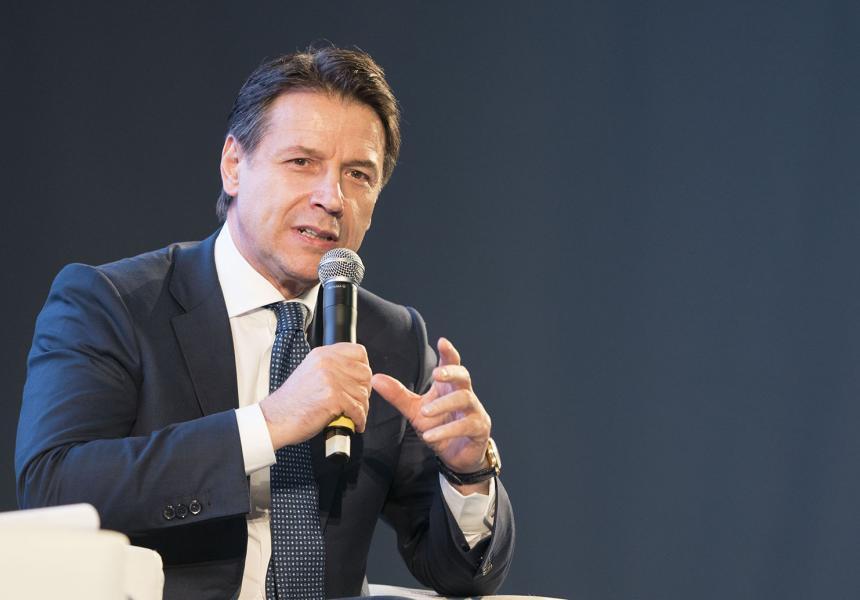 """DSC07018 - Il Presidente Conte interviene alle """"Giornate del Lavoro 2019"""""""