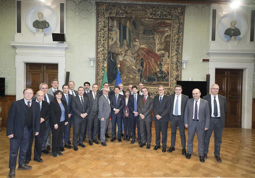 Il Presidente del Consiglio Conte alla Conferenza Stato - Regioni - m5stelle.com - notizie m5s