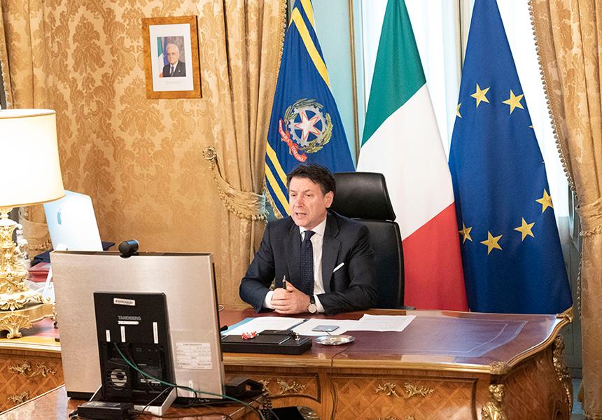 Il Presidente Conte partecipa alla riunione del Consiglio europeo - m5stelle.com - notizie m5s