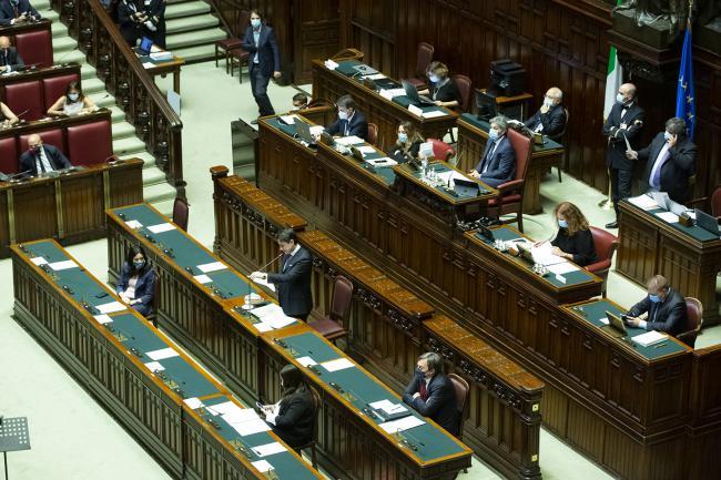 Consiglio Europeo, comunicazioni di Conte alla Camera