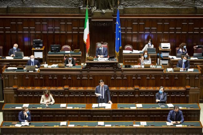 Consiglio europeo, informativa de Presidente Conte alla Camera