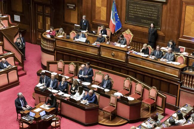 Consiglio europeo, il Presidente Conte al Senato