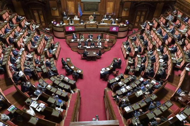 Consiglio europeo, informativa de Presidente Conte al Senato