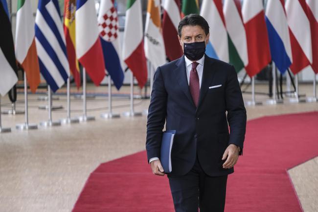 Conte al Consiglio europeo a Bruxelles