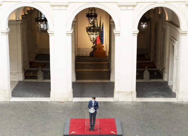 Dpcm 24 ottobre, la conferenza stampa del Presidente Conte