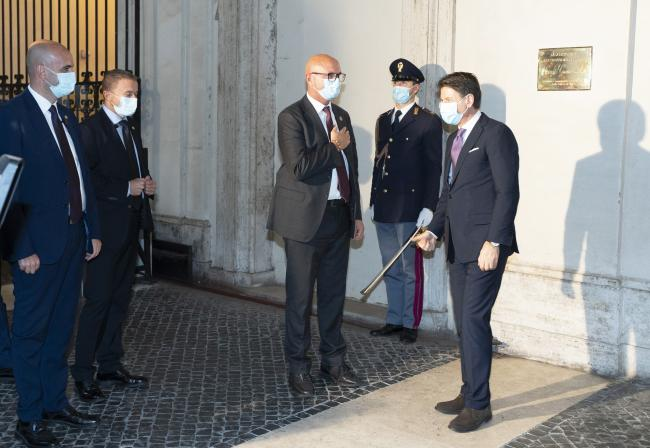 Cerimonia in ricordo di Giorgio Guastamacchia e Paolo Salvucci