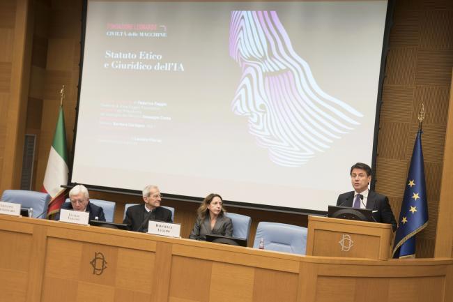 Conferenza sullo statuto etico e giuridico dell'intelligenza artificiale