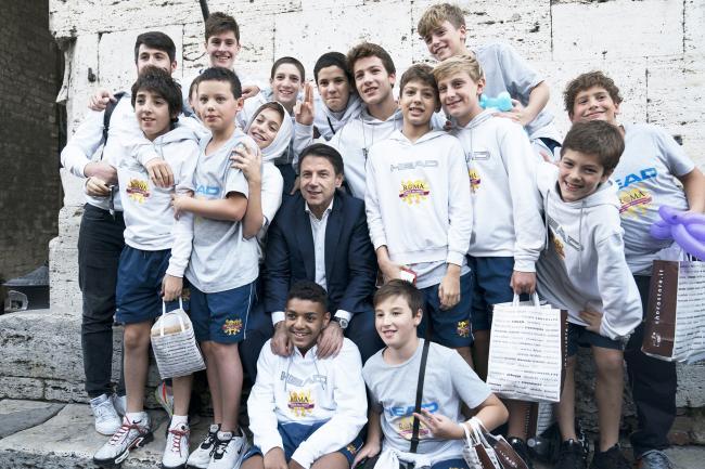 Il Presidente Conte a Eurochocolate 2019