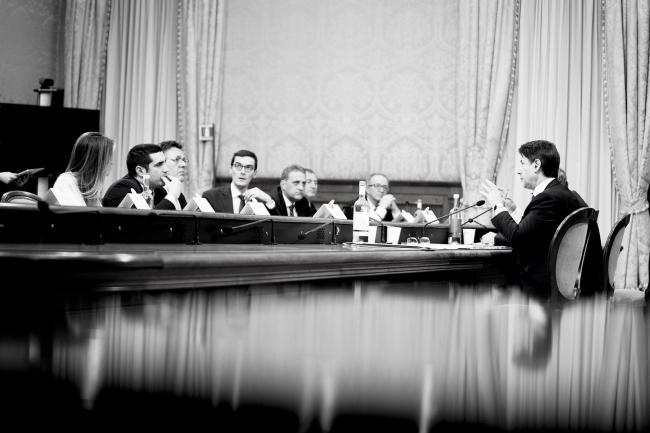 Il Presidente Conte incontra una delegazione dell'Upi