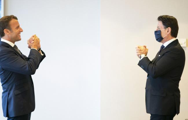 Conte incontra Macron a Bruxelles