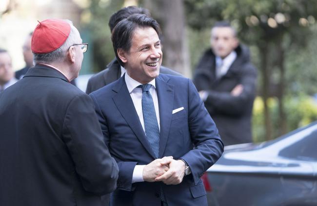 Il Presidente Conte alle celebrazioni per la ricorrenza dei Patti Lateranensi e dell'Accordo di Revisione del Concordato